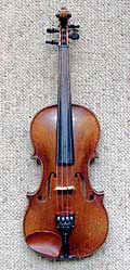 So I buy my son Harold this gorgeous violin and do you think he ever practiced? Instead he's a sports writer!